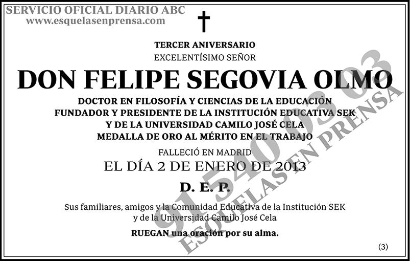 Felipe Segovia Olmo